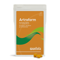 Artroform - Aktive ingredienser for muskler og ledd