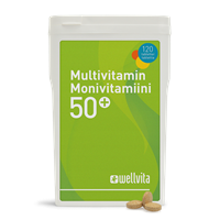 Wellvita Multivitamin 50+